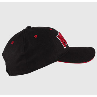 Cap Kiss - Red on White Logo - ROCK OFF - KISSCAP03