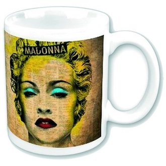 Keramiktasse  Madonna - Celebration - ROCK OFF - MADMUG01