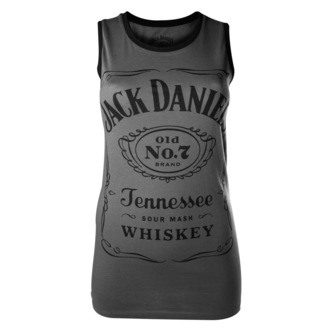 Top Damen Jack Daniels - Charcoal - BIOWORLD - TS500201JDS