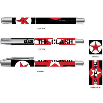 Kugelschreiber The Clash - Star & Stripes - ROCK OFF - CLPEN01