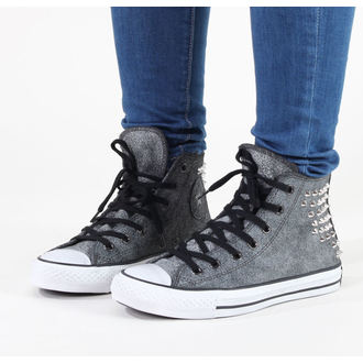Damenschuhe CONVERSE - Chuck Taylor AS Collar Studs - Black - C540222