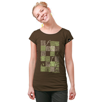 Damen T-Shirt FUNSTORM - Bela - 04 BROWN