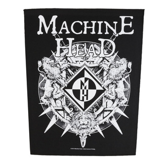 Rückenaufnäher Patch Machine Head - Crest - RAZAMATAZ, RAZAMATAZ, Machine Head