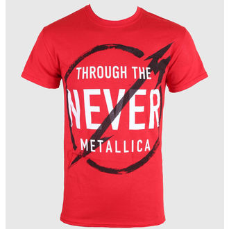 Herren T-Shirt Metalllica - Never - LIVE NATION - 0390