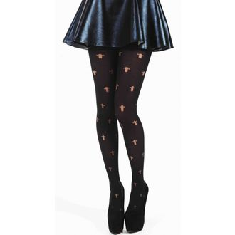 Strumpfhose PAMELA MANN - Opaque Cross Tights - Black - 042