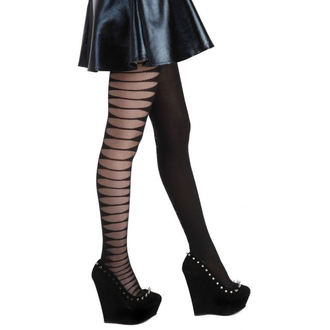 Strumpfhose PAMELA MANN - Sheer Side Slash Tights - Black - 056