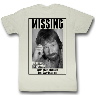 Herren T-Shirt Missing In Action - Missing - AC - MIA519