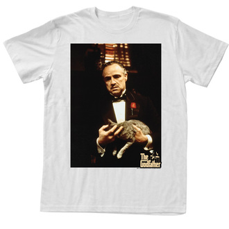 Herren T-Shirt Godfather - Cat - Leone - AC - GF5109