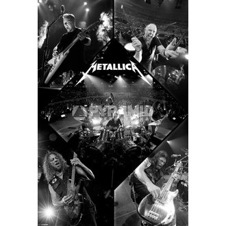 Poster Metalllica - Live - PYRAMID POSTERS - PP32830