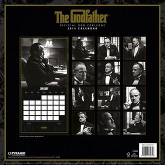 Kalender  2014 Godfather - PYRAMID POSTERS