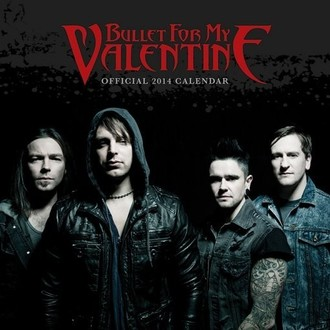 Kalender  2014 Bullet For My Valentine - PYRAMID POSTERS - C12049