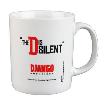 Keramiktasse  Django - Unchained - The D Is Silent - PYRAMID POSTERS