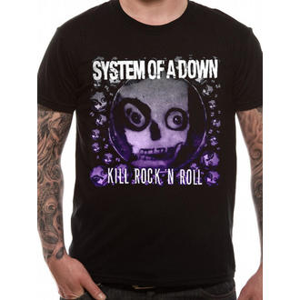 Herren T-Shirt   System Of A Down - Death Ro Rock - LIVE NATION - RTSOAD60903