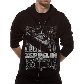Herren Hoodie Led Zeppelin - Shook Me - Black - LIVE NATION, LIVE NATION, Led Zeppelin
