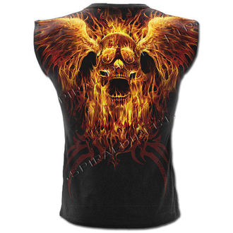 Herren Tank Top SPIRAL - Burn In Hell
