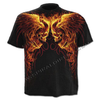 Herren T-Shirt SPIRAL - Burn In Hell - WR140606