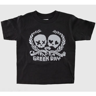 Kinder T-Shirt Green Day - Blk - BRAVADO - GDY1211