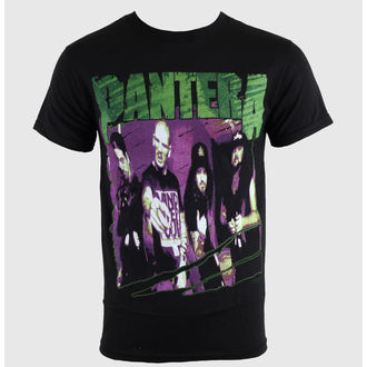 Herren T-Shirt   Pantera - Group Sketch - Blk - PNA1232