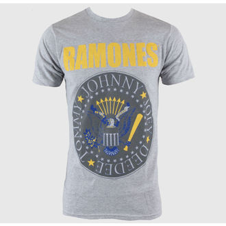 Herren T-Shirt   Ramones - Y&B Seal - Heather Grey - BRAVADO - 95221251