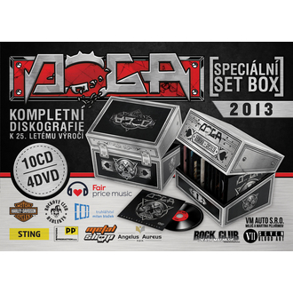 Spezielle Set Box DOGA - 10 CD + 4DVD