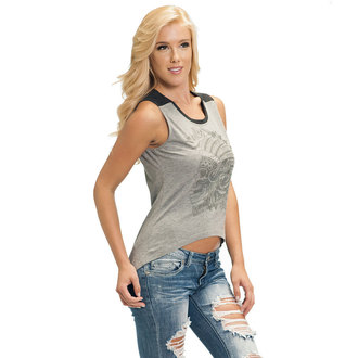 Damen Tank Top SULLEN  - Warrior High Low