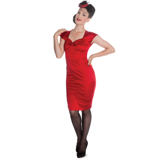 Damen Kleid HELL BUNNY - Angie - Red, HELL BUNNY