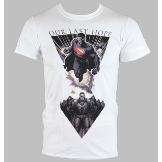 Herren T-Shirt   Man Of Steel - Last Hope - White - LIVE NATION - 10770