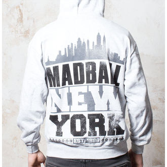 Herren Hoodie  Madball - Skyline - Heather Grey - BUCKANEER - 042
