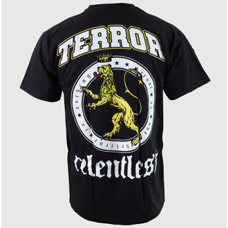 Herren T-Shirt Terror - Relentless - Black - BUCKANEER