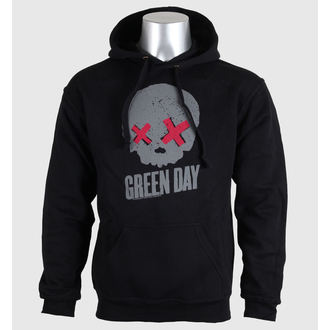 Herren Hoodie  Green Day - Grayskull - Blk - ROCK OFF - GDHD01