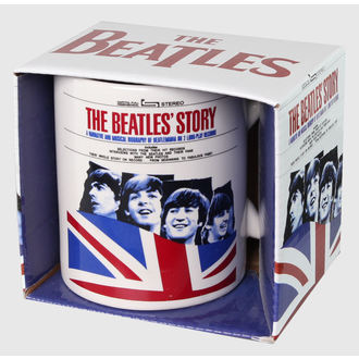 Keramiktasse The Beatles - The Beatles Story - ROCK OFF - BEATMUG27