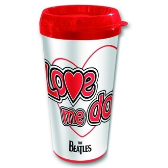 Keramiktasse Thermo The Beatles - Love Me Do - ROCK OFF