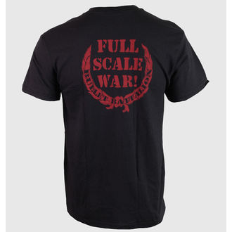 Herren T-Shirt Hail Of Bullets - Full Scale War - RELAPSE - TS4216