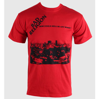 Herren T-Shirt   Bad Religion - How Could Hell - Red - KINGS ROAD - 44928