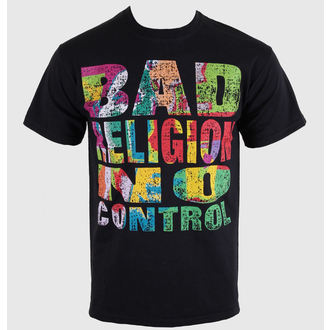 Herren T-Shirt   Bad Religion - No Control - Black - KINGS ROAD - 00206