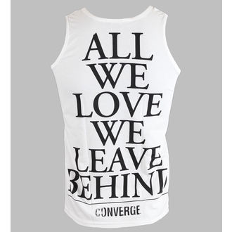 Herren Tanktop Converge - All We Love - White - KINGS ROAD, KINGS ROAD, Converge