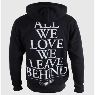 Herren Hoodie  Converge - Half Moon - Black - KINGS ROAD, KINGS ROAD, Converge