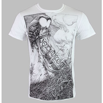 Herren T-Shirt   Converge - Horkey Owl - White - KINGS ROAD, KINGS ROAD, Converge