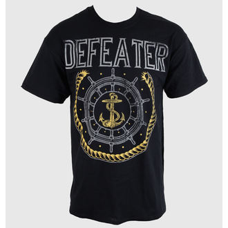 Herren T-Shirt   Defeater - Anchor - Black - KINGS ROAD, KINGS ROAD, Defeater