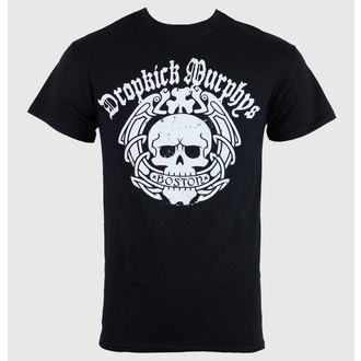 Herren T-Shirt   Dropkick Murphys - Boston Skull - Black - KINGS ROAD - 50450
