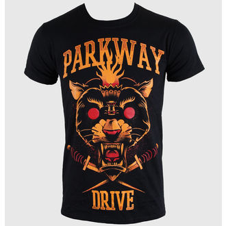 Herren T-Shirt   Parkway Drive - Panther Torch - Black - KINGS ROAD, KINGS ROAD, Parkway Drive