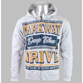 Herren Hoodie  Parkway Drive - Sign - Heather Gray - KINGS ROAD - 1763