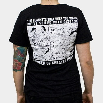 Damen T-Shirt  Propagandhi - Cowboy - Black - KINGS ROAD, KINGS ROAD, Propagandhi
