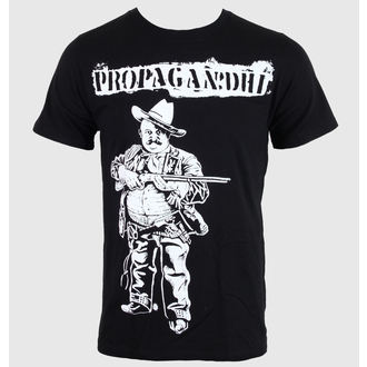 Herren T-Shirt   Propagandhi - Cowboy - Black - KINGS ROAD, KINGS ROAD, Propagandhi