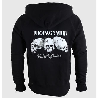 Herren Hoodie  Propagandhi - Failed States Crest - Black - KINGS ROAD, KINGS ROAD, Propagandhi