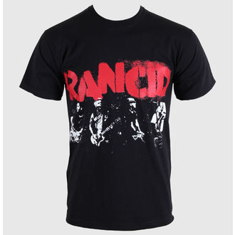 Herren T-Shirt   Rancid - Let The Dominoes - Black - KINGS ROAD, KINGS ROAD, Rancid