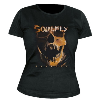 Damen T-Shirt   Soulfly - Savages - NUCLEAR BLAST - 22265