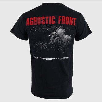 Herren T-Shirt Agnostic Front - Today - Black - RAGEWEAR