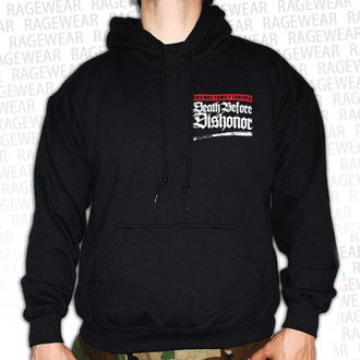 Herren Hoodie  Death Before Dishnor - Live Shot - Black - RAGEWEAR - 011HSS29