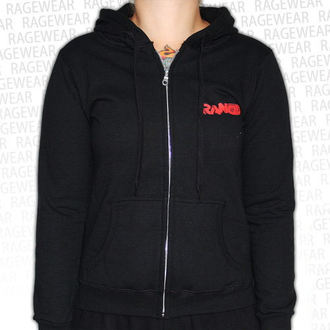 Damen Hoodie  Rancid - Wolves - Black - RAGEWEAR, RAGEWEAR, Rancid